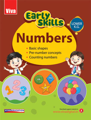 Early Skills - Numbers - LKG