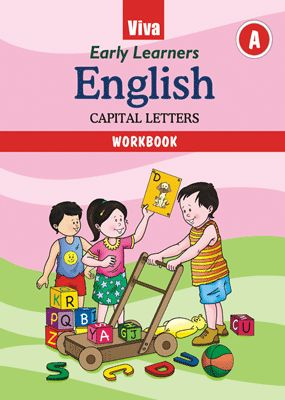 Early Learners English Capital Letters Workbook A