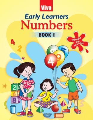 Early Learners Numbers Book 1