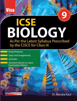 ICSE Biology, 2019 Edition - 9