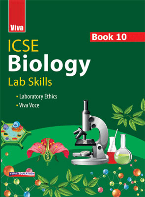 ICSE Biology Lab Skills - Book 10