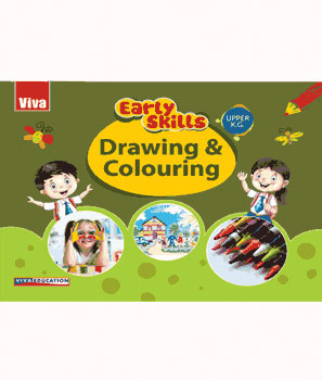 Early Skills - Drawing & Colouring - UKG