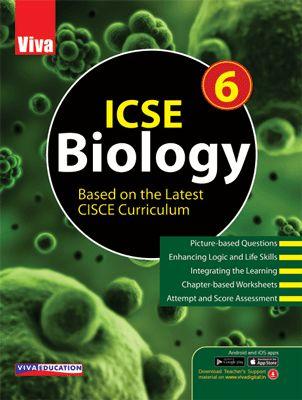 ICSE Biology, 2019 Edition - 6