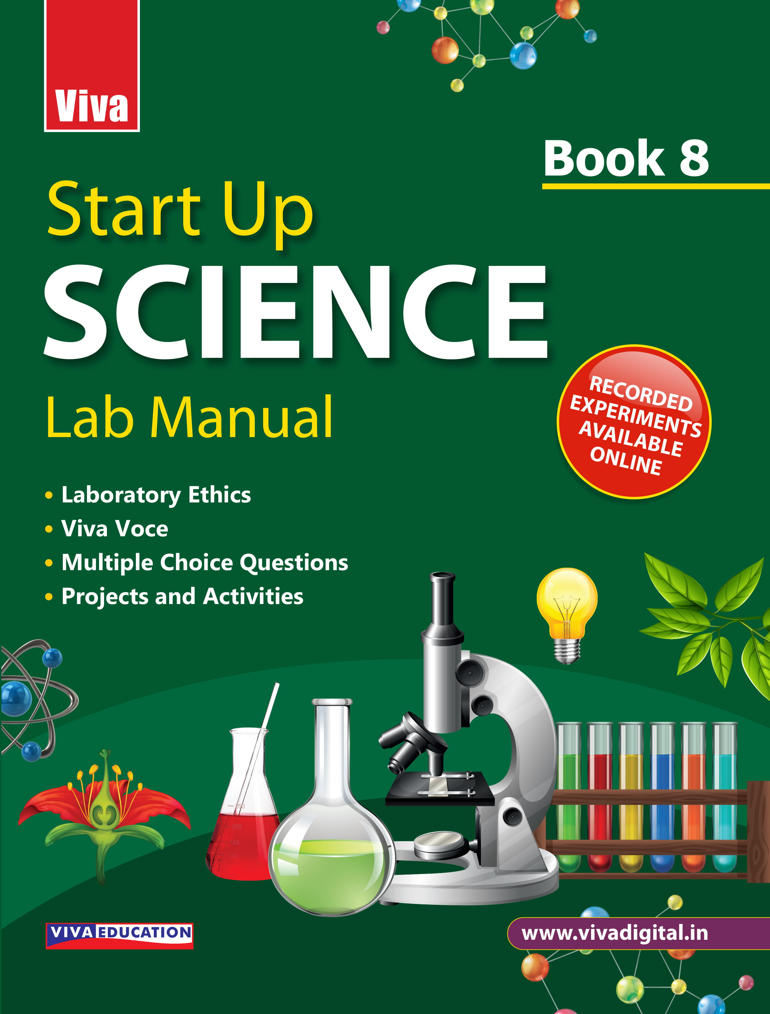 Start Up Science Lab Manual - 8