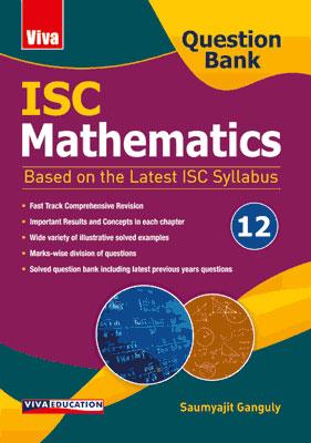 ISC Mathematics Question Bank - Class 12