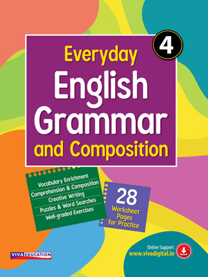 Everyday English Grammar And Composition - Class 4
