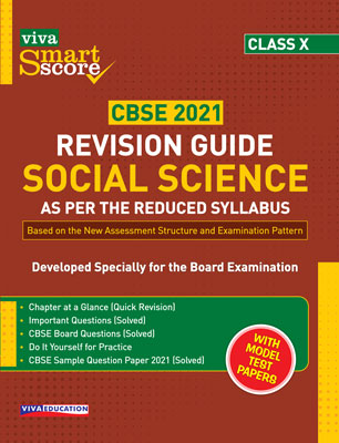 Smart Score Revision Guide: Social Science for Class X
