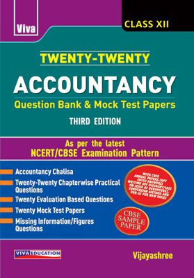 Twenty-Twenty Accountancy - Class - XII - 3/e