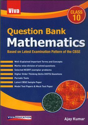 Question Bank Mathematics Class X - 2/e