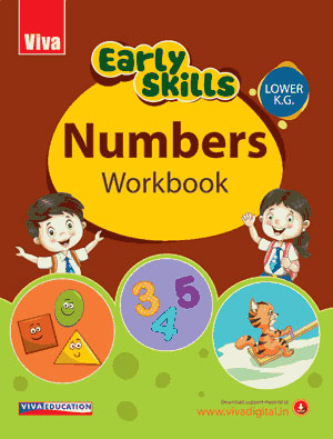 Early Skills - Numbers Workbook - LKG