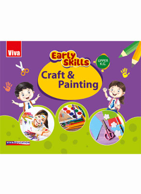 Early Skills - Crafts And Painting - Upper KG