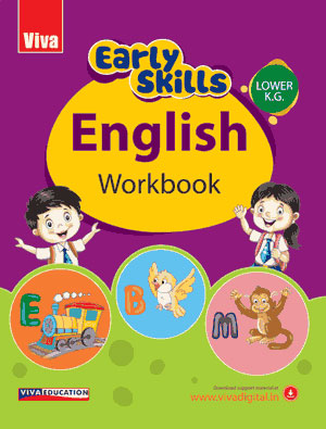 Early Skills - English Workbook - Lower KG