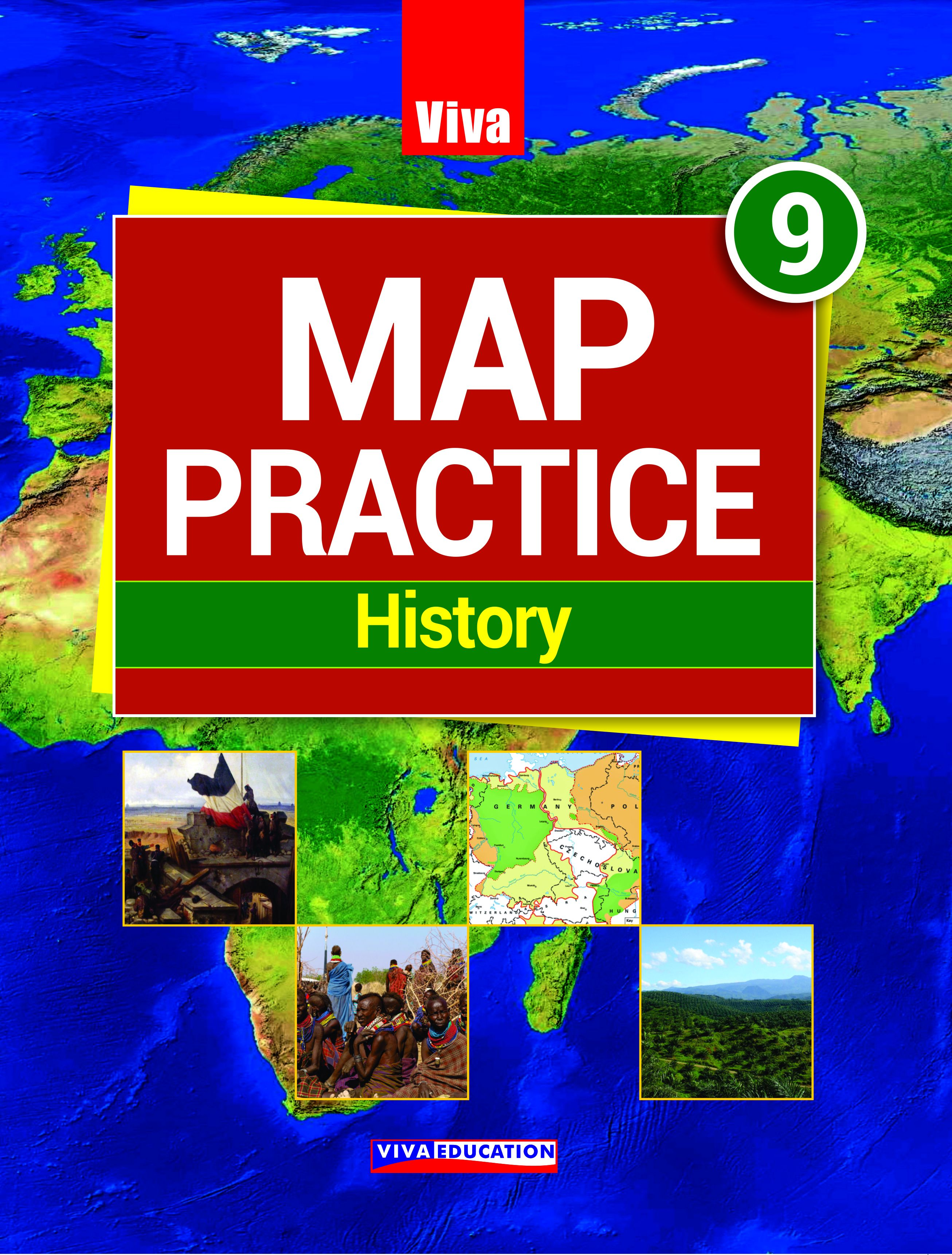 Map Practice - History - Class 9