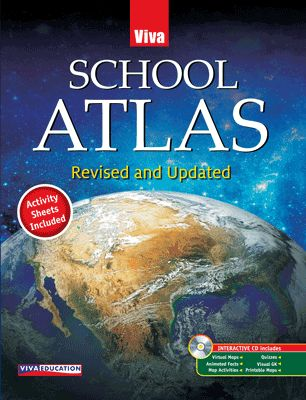 School Atlas - Revised And Updated (with CD)