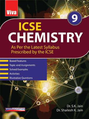 ICSE Chemistry, 2020 Edition - Class 9