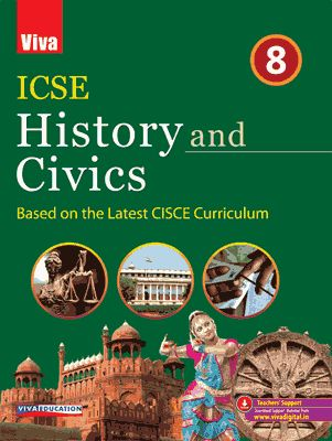 ICSE History And Civics 2019 Edition - 8
