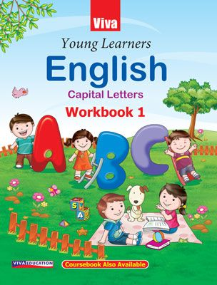 Young Learners English Capital Letters Workbook 1