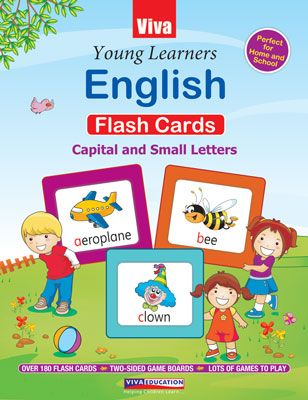 Young Learners English - Flash Cards (Capital And Small Letters)