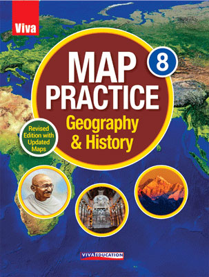 Map Practice Class 8, Revised Edition