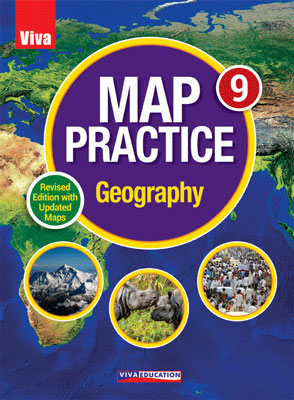 Map Practice Geography - Class 9