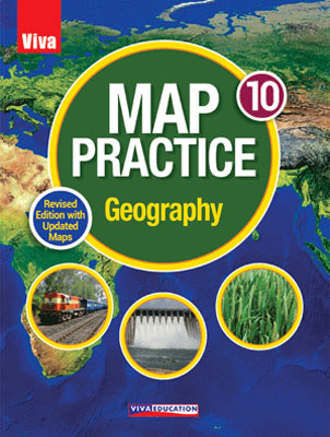 Map Practice Geography - Class 10