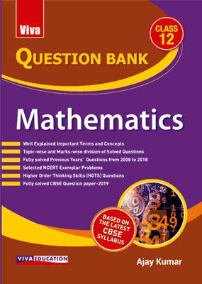 Question Bank Mathematics, Class 12