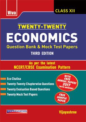 Twenty-Twenty Economics - Class - XII - 3/e