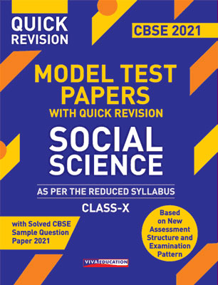 Model Test Papers with Quick Revision - Social Science for Class X
