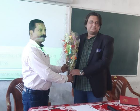 "WORKSHOP ON ""CLASSROOM MANAGEMENT & WHO IS A TEACHER?"" AT ST.THOMAS SCHOOL, GAYA BY RESOURCE PERSON DR. VIMLENDU VIMAL."
