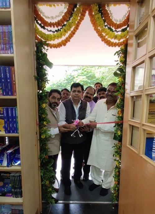 OPENING OF THEIR NEW MARKETING OFFICE OF VIVA EDUCATION AT INDORE.