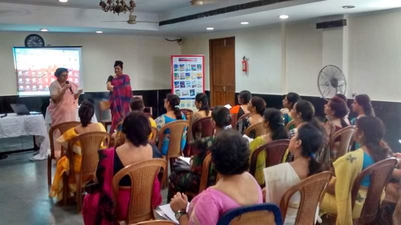 MOTIVATION WORKSHOP FOR TEACHERS, BHAWANIPUR ARYA VIDYA MANDIR FOR GIRLS, KOLKATA