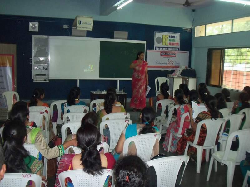 TEACHER'S TRAINING WORKSHOP, VIDYANIKETAN, DOMBIVALI EAST
