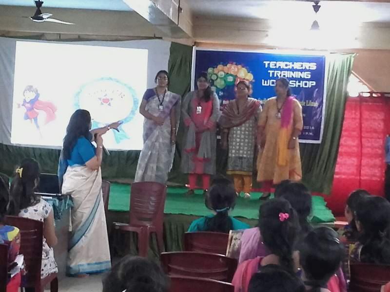 MOTIVATION WORKSHOP FOR TEACHERS, SUDHIR MEMORIAL SCHOOL, HOWRAH