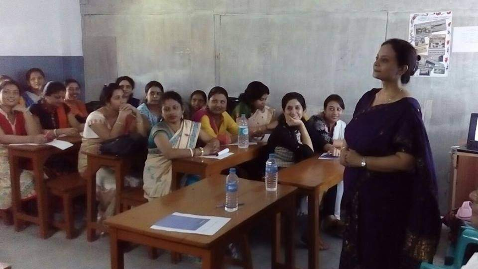 TEACHERS TRAINING WORKSHOP ON CLASSROOM MANAGEMENT AT CAPITAL PUBLIC SCHOOL, GUWAHATI. ALL THE SCHOOL TEACHERS PARTICIPATED IN THE SESSION VERY ACTIVELY. THANKS TO MRS NASREEN SHAH (RESOURCE PERSON) TO SHARE HER EXPERIENCE AND HELP ALL THE TEACHERS T
