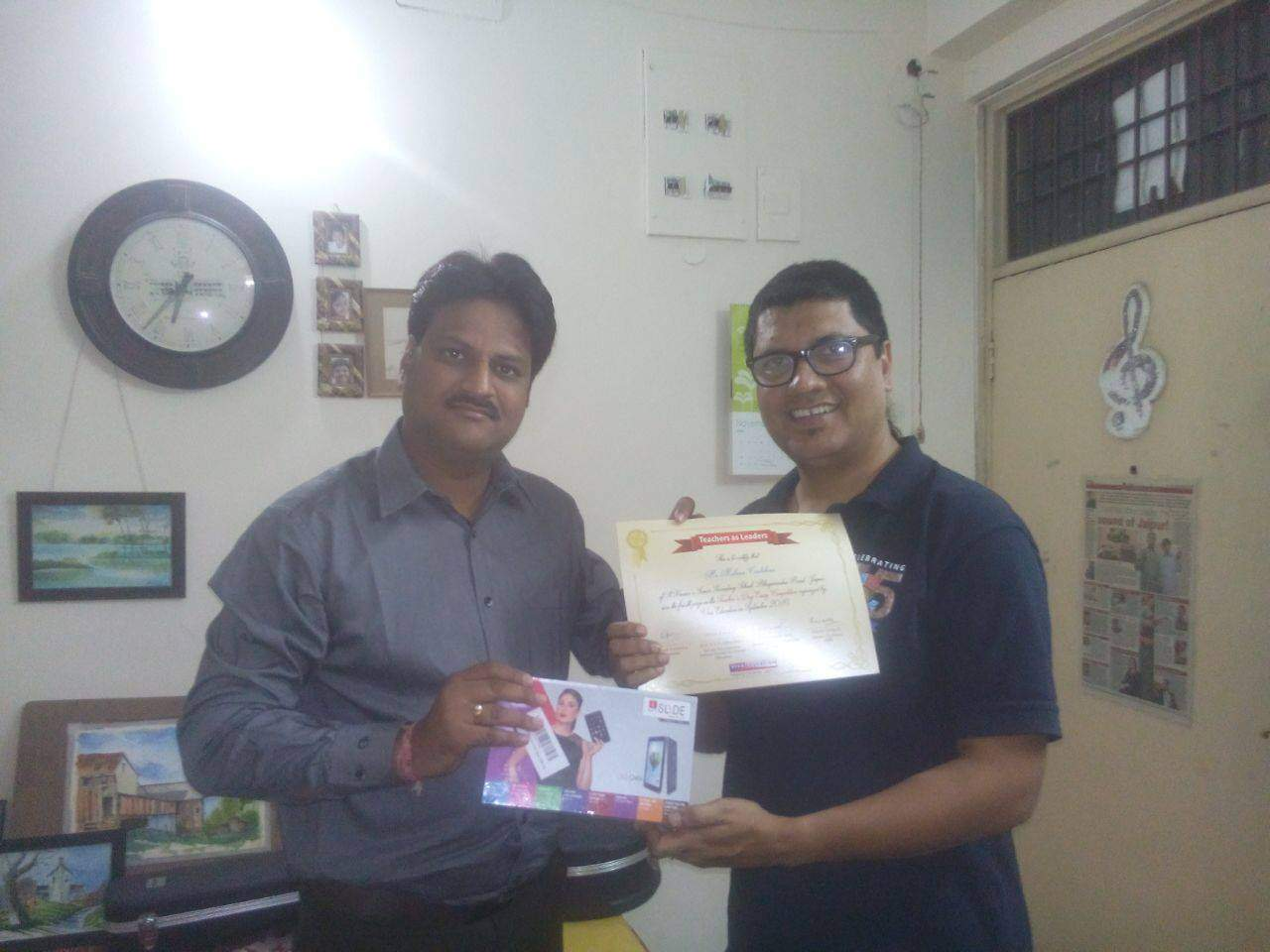 PRIZE-DISTRIBUTION FOR THE ESSAY WRITING COMPETITION ON