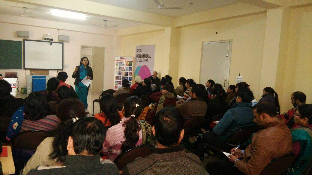 VIVA EDUCATION ORGANISED A TEACHERS WORKSHOP IN RAJEEV INTERNATIONAL SCHOOL, MATHURA. ALL THE TEACHERS LIKED AND HIGHLY APPRECIATED THE WORKSHOP SESSION.
