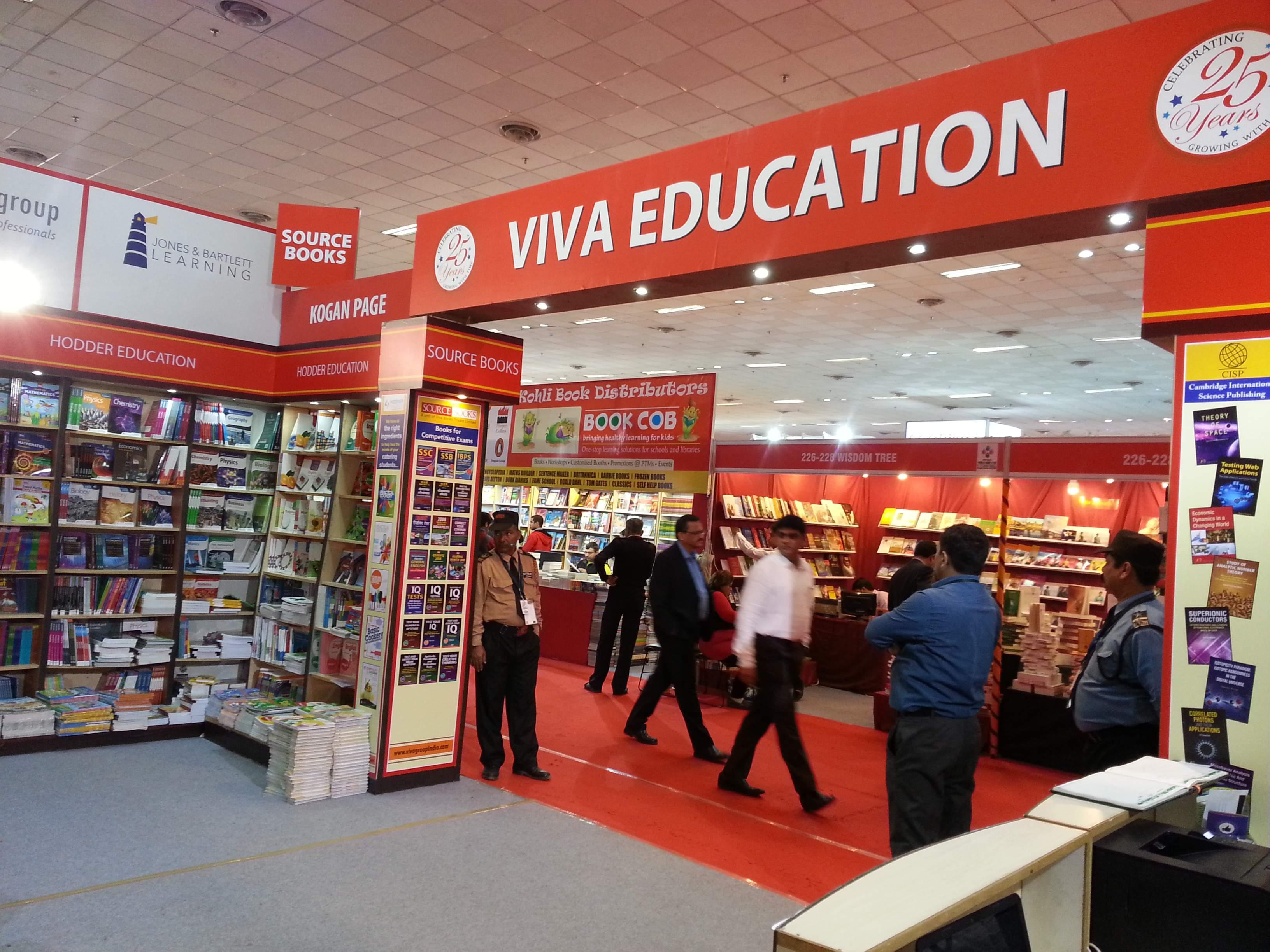 NEW DELHI WORLD BOOK FAIR 2016 ( 9TH JAN 2016 TO 17TH JAN 2016 )
