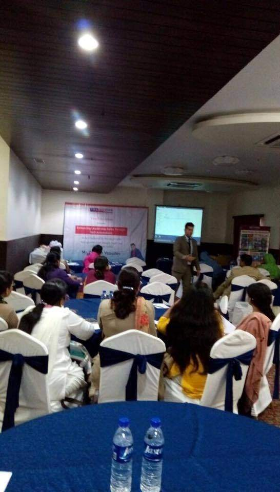 VIVA EDUCATION ORGANISED A WORKSHOP ON ENHANCING LEADERSHIP SKILLS THROUGH SELF-ASSESSMENT. CONDUCTED BY MR DARPAN VASUDEV, NEW-AGE EDUCATION THOUGHT LEADER AND SELF-AWARENESS ADROIT.