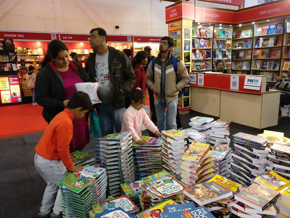VIVA BOOKS PARTICIPATED IN NEW DELHI WORLD BOOK FAIR 2017