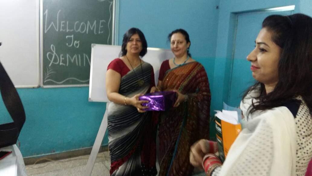 TEACHERS TRAINING WORKSHOP ON STRESS MANAGEMENT/CHILD PSYCHOLOGY AT RAWAL PUBLIC SCHOOL, FARIDABAD
