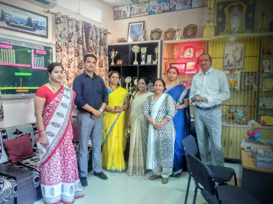 TEACHERS TRAINING WORKSHOP ON ELT BY MRS SMITA SHAKARGAYE AT SAMARITANS SCHOOL HOSHANGABAD, MADHYA PRADESH