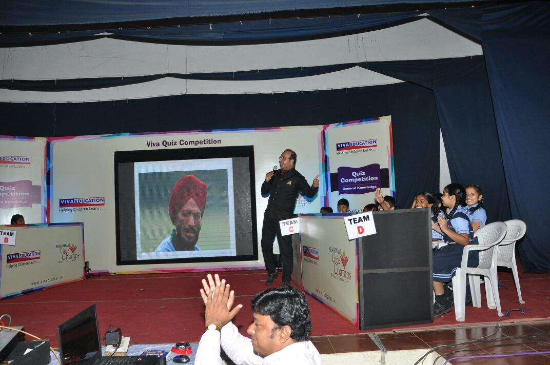 GRAND FINALE: VIVA EDUCATION ORGANISED THE GRAND FINALE OF GK QUIZ COMPETITION AT HYDERABAD ON 17 NOVEMBER