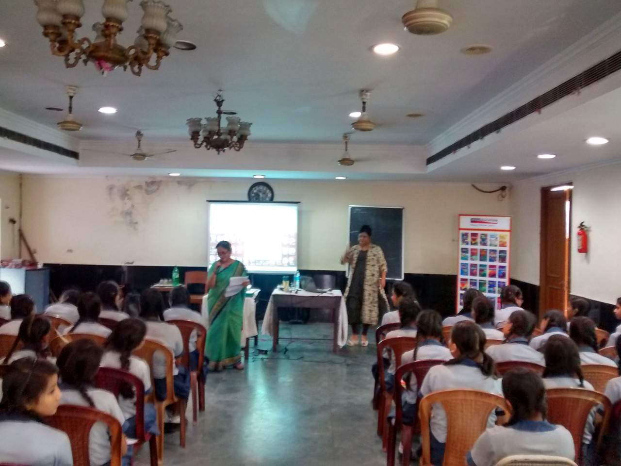 "WORKSHOP ON ""GENERAL ETIQUETTE"" FOR STUDENTS IN BHAWANIPUR ARYA VIDYA MANDIR FOR GIRLS, KOLKATA, ORGANISED BY VIVA EDUCATION"