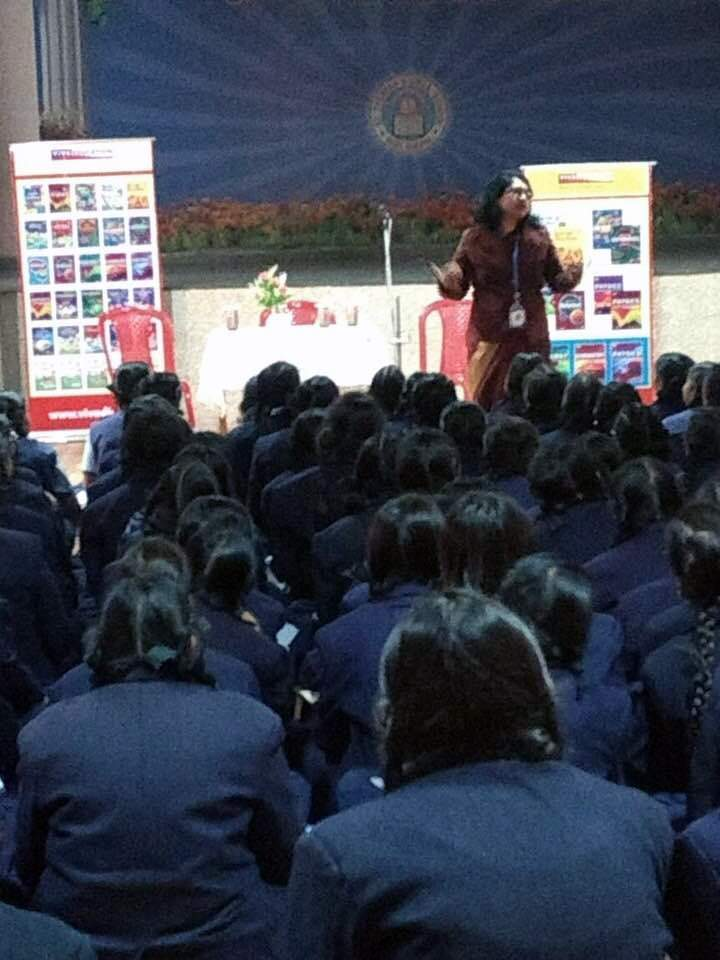 "CHASE YOUR DREAMS"" A CONSULTANCY WORKSHOP FOR THE STUDENTS OF ST. THERESA SR. SEC. SCHOOL, BHOPAL ORGANISED BY VIVA EDUCATION AND CONDUCTED BY DR. LILA SIMON"