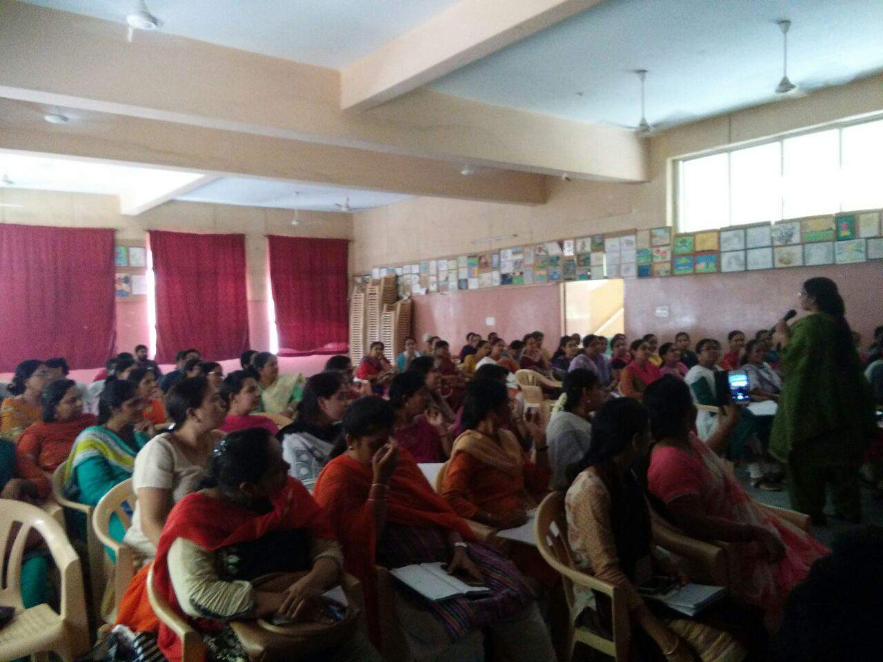 WORKSHOP ON DIFFERENTIATED CLASSROOM AND ENGAGING STUDENTS BY MRS. KALA MOHAN