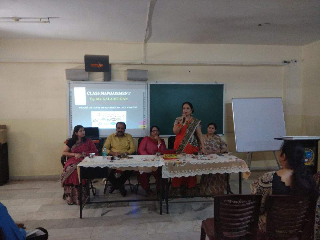 CLASSROOM MANAGEMENT SESSION BY MRS. KALA MOHAN IN PALLAVI MODEL SCHOOL