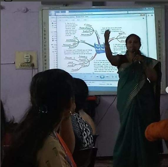 WORKSHOP ON 'ENGLISH LANGUAGE TEACHING' IN HYDERABAD BY MRS SAMPA DAS AND DR. PADMANABAN