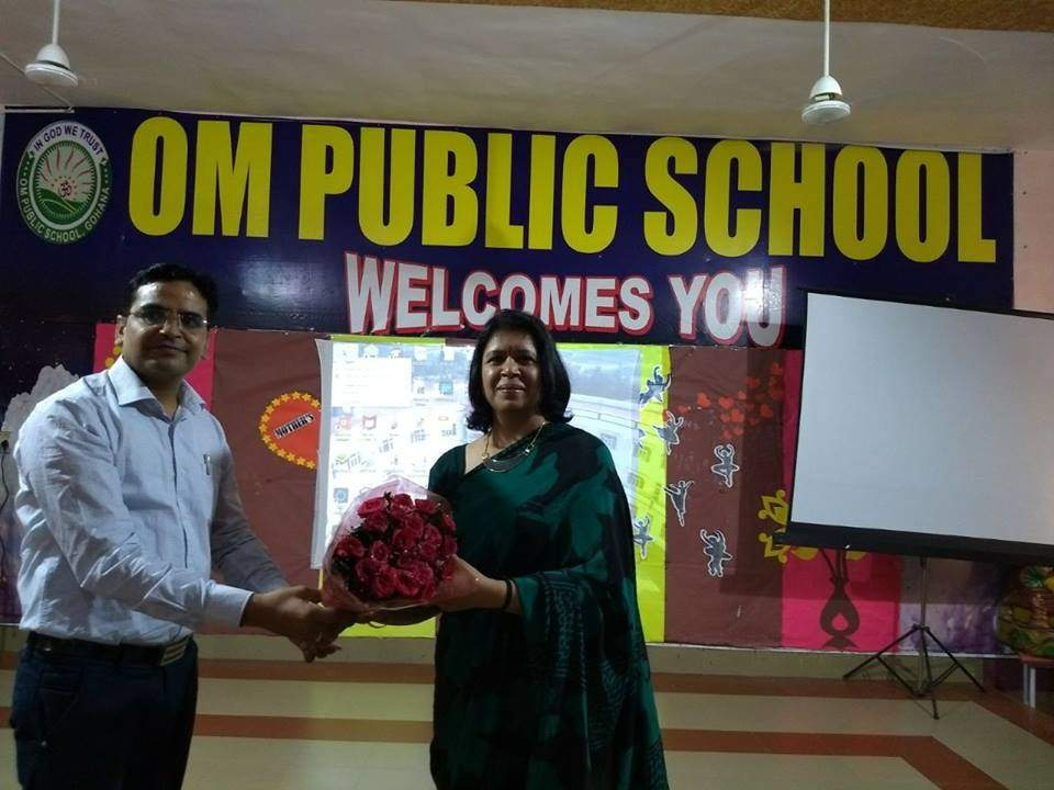 WORKSHOP ON TEACHER MOTIVATION AT OM PUBLIC SCHOOL, GOHANA ON CONDUCTED BY MS. ANITA SINGH